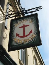 Hope & Anchor sign